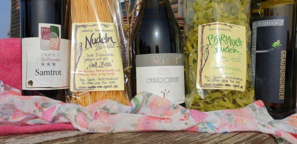 Wine and dine Frühling