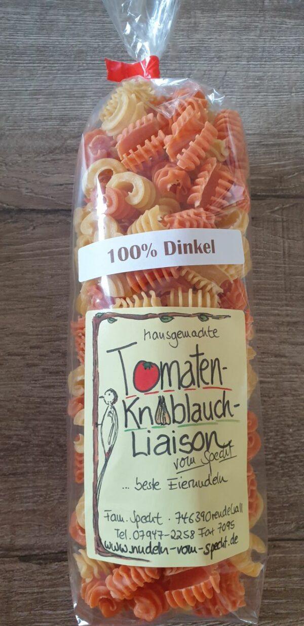 Dinkel Tomate-Knobaluch Radiatroi
